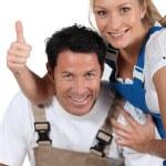 DIY couple — Stock Photo #14559991