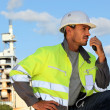 Industrial operator - Stock Photo
