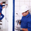 Electrical installations — Stock Photo #14635707