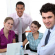 Young sales having a meeting — Stock Photo #14657643