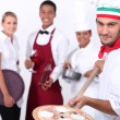 Hospitality workers — Stock Photo