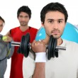 team sport&quot — Stock Photo