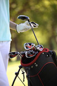 Golf bag — Stock Photo