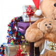 Close-up of Christmas presents - Stock Photo
