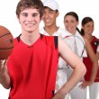 Stock Photo: Sports players