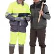 Two workers — Stock Photo #14707901