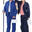 Couple of painters — Stock Photo #14708825