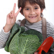Young gardener — Stock Photo #14709813
