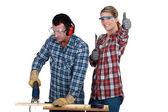 Zdrowia i bezpieczeństwa w miejscu pracy — Zdjęcie stockowe