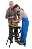 Vocational training — Stock Photo
