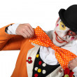 Stock Photo: Mdressed as clown