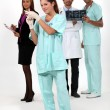 Medical staff — Stock Photo #14739233