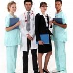 An hospital team. — Stock Photo #14739273