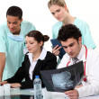 Stock Photo: Medical team