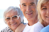 Three mature — Stock Photo