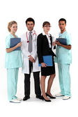 An hospital team. — Stock Photo
