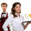 Restaurant Workers — Stock Photo #14919375