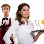 Restaurant Workers — Stock Photo #14919375