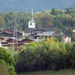 Rural village — Stock Photo