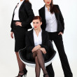 Team of businesswomen — Stock Photo #14940567