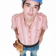 Portrait of a neutral tradesman — Stock Photo #14948559