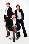 A team of businesswomen — Stock Photo