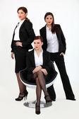 A team of businesswomen — Stock Photo