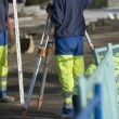 Site surveyors — Stock Photo