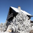 Stock Photo: Winter chalet covered in snow