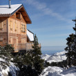 Stock Photo: Mountain chalet