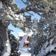 Stock Photo: Secluded winter hut