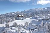 Pittoreske bergresort — Stockfoto