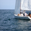 Stock Photo: Sailing