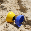 Diabolo on the sand — Stock Photo