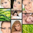 Stock Photo: Feminine Beauty