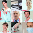 Hospital staff - Stock Photo