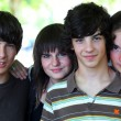 Group of teenagers — Stock Photo #15747003