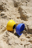 Diabolo on the sand — Stock Photo