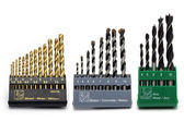 Selection of drill bits — Stock Photo