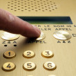 Stock Photo: Intercom button