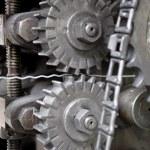 Machinery cogs — Stock Photo