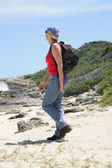 Olgun çift hiking — Foto de Stock