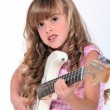 Girl with guitar — Stock Photo #16014707
