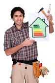 Reducir su consumo de energía. — Foto de Stock