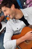 Two musicians — Stock Photo