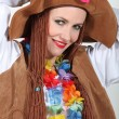 Stock Photo: Womin costume