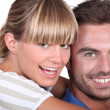 Stock Photo: Smiling young couple
