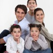 Foto de Stock  : Family portrait