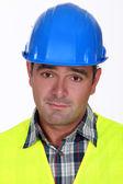 Closeup of an engineer — Stock Photo