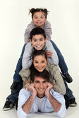 Family pyramid — Stock Photo